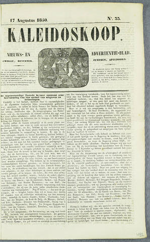 De Kaleidoskoop (1846-1851) 1850-08-17