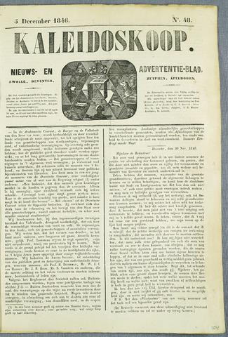 De Kaleidoskoop (1846-1851) 1846-12-03