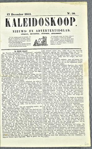 De Kaleidoskoop 1851-12-13