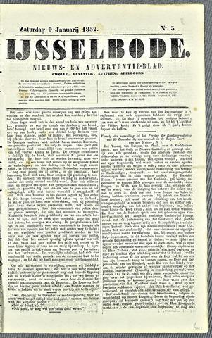De IJsselbode (1852) 1852-01-09