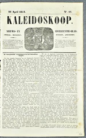 De Kaleidoskoop 1851-04-26