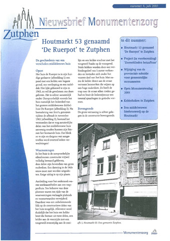 Zutphen MoNUmentaal 2001