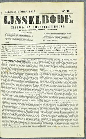 De IJsselbode (1852) 1852-03-09
