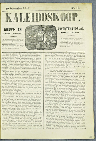De Kaleidoskoop (1846-1851) 1846-12-19