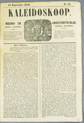 De Kaleidoskoop (1846-1851) 1849-09-15