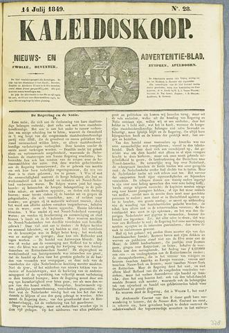 De Kaleidoskoop (1846-1851) 1849-07-14