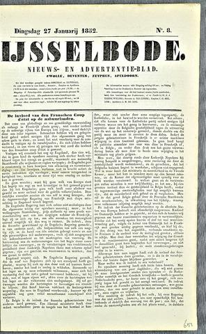 De IJsselbode (1852) 1852-01-27