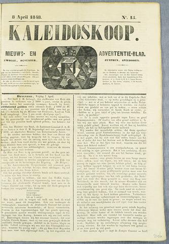 De Kaleidoskoop (1846-1851) 1848-04-08