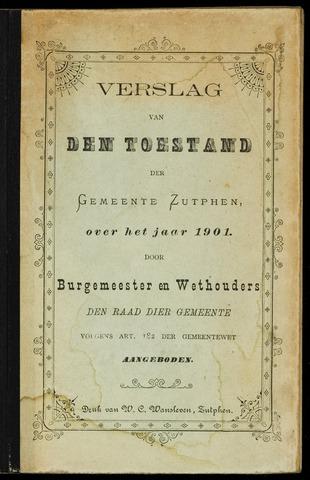 Jaarverslagen gemeente Zutphen (1851-1945) 1901-12-31