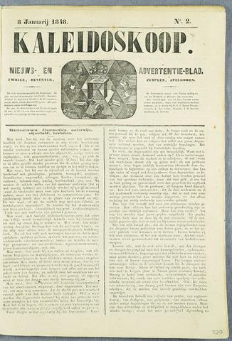 De Kaleidoskoop (1846-1851) 1848-01-08