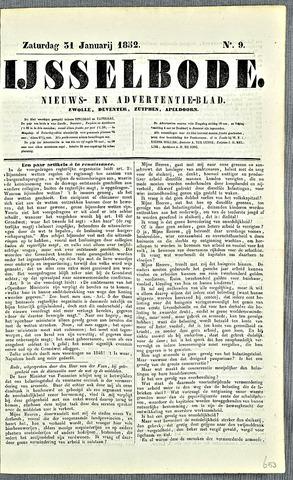 De IJsselbode (1852) 1852-01-31