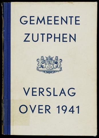 Jaarverslagen gemeente Zutphen 1941-12-31