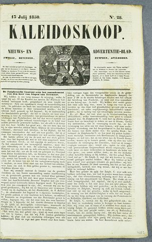 De Kaleidoskoop (1846-1851) 1850-07-13
