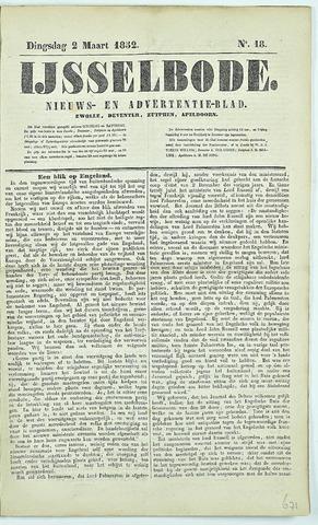De IJsselbode (1852) 1852-03-02