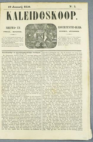 De Kaleidoskoop (1846-1851) 1850-01-19