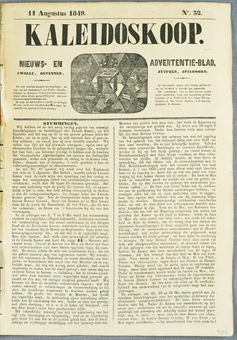 De Kaleidoskoop (1846-1851) 1849-08-11