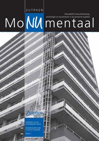 Zutphen MoNUmentaal 2007