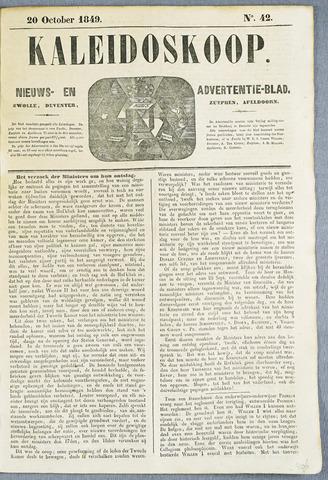 De Kaleidoskoop (1846-1851) 1849-10-20