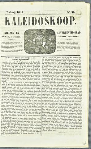 De Kaleidoskoop 1851-06-07