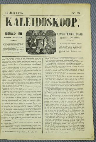 De Kaleidoskoop (1846-1851) 1846-07-18