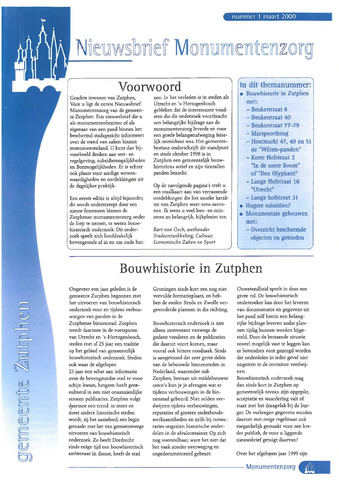 Zutphen MoNUmentaal 2000