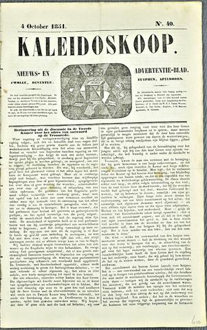 De Kaleidoskoop 1851-10-04