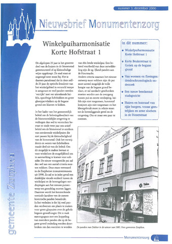 Zutphen MoNUmentaal 2000-12-01