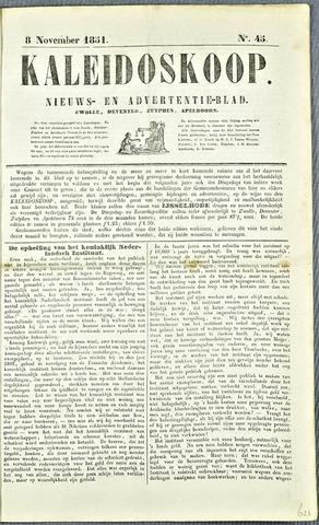 De Kaleidoskoop 1851-11-08