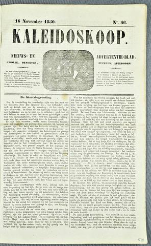 De Kaleidoskoop (1846-1851) 1850-11-16