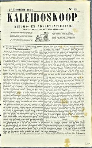 De Kaleidoskoop 1851-12-27
