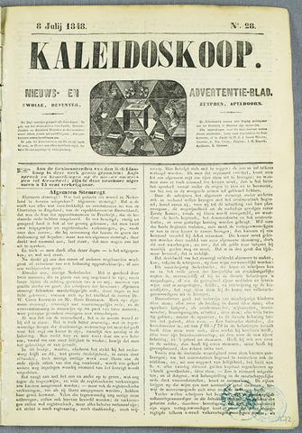De Kaleidoskoop (1846-1851) 1848-07-08