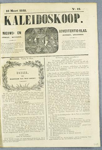 De Kaleidoskoop (1846-1851) 1848-03-18