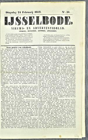De IJsselbode (1852) 1852-02-24