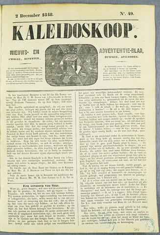 De Kaleidoskoop (1846-1851) 1848-12-02
