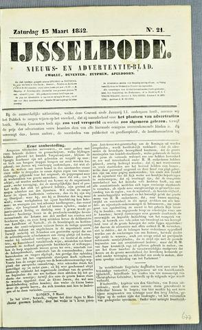 De IJsselbode (1852) 1852-03-13