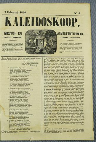 De Kaleidoskoop (1846-1851) 1846-02-07