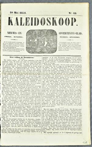 De Kaleidoskoop 1851-05-10