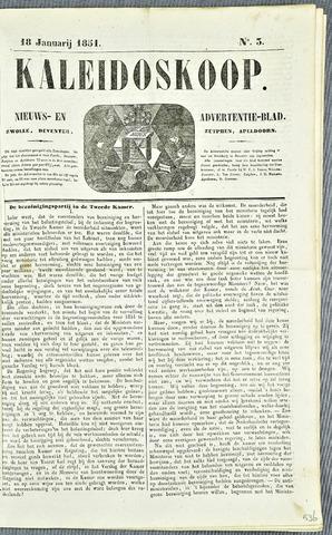 De Kaleidoskoop 1851-01-18