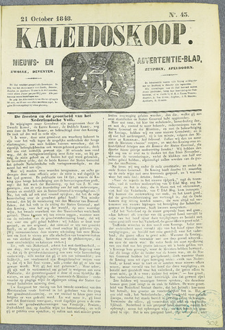 De Kaleidoskoop (1846-1851) 1848-10-21