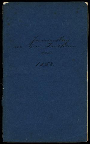 Jaarverslagen gemeente Zutphen 1858-12-31