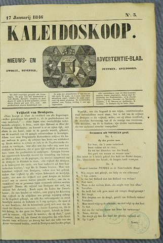 De Kaleidoskoop (1846-1851) 1846-01-17