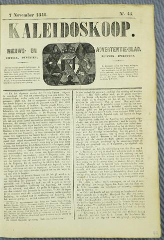 De Kaleidoskoop (1846-1851) 1846-11-07