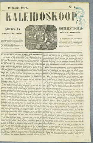 De Kaleidoskoop (1846-1851) 1850-03-16