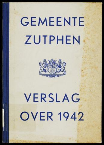 Jaarverslagen gemeente Zutphen 1942-12-31