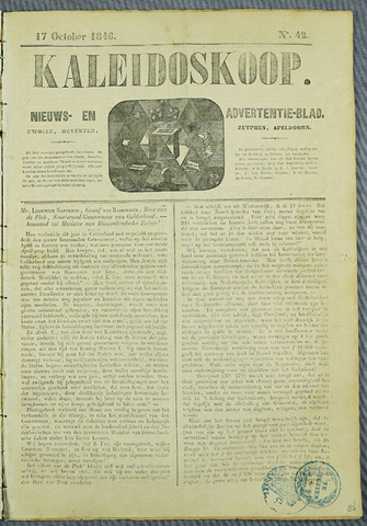 De Kaleidoskoop (1846-1851) 1846-10-17