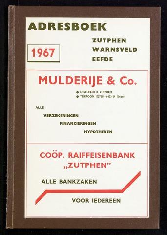 Adresboeken Zutphen 1967-12-31