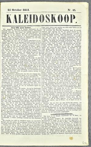 De Kaleidoskoop 1851-10-25