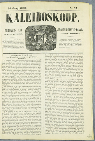 De Kaleidoskoop (1846-1851) 1848-06-10