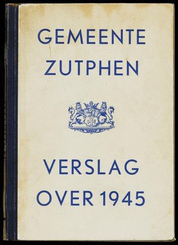 Jaarverslagen gemeente Zutphen 1945-12-31
