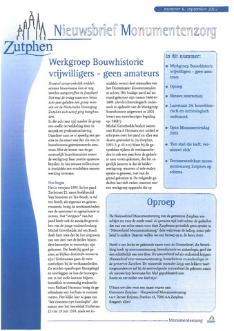 Zutphen MoNUmentaal 2002-09-01